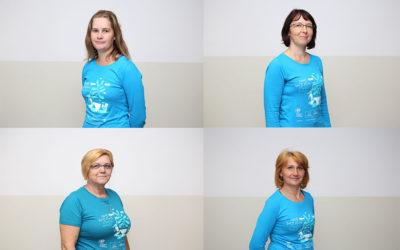 [Zaželi portreti]Sanela Franjić, Irena Hamzić, Ružica Hamzić, Đurđica Hanuljak