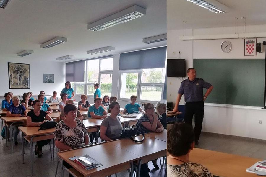 [Zaželi]Djelatnici PP Đakovo održali predavanje zaposlenicama