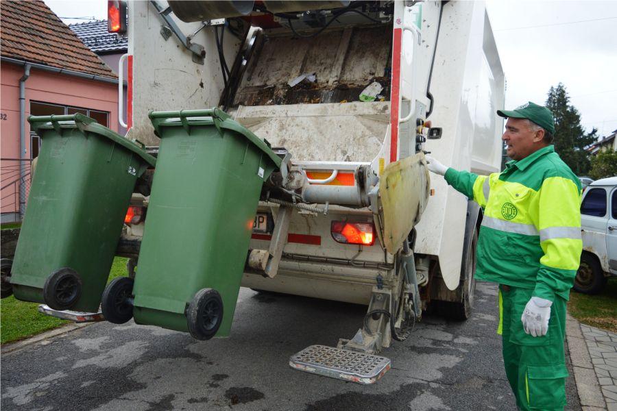 Obavijest o odvozu komunalnog otpada