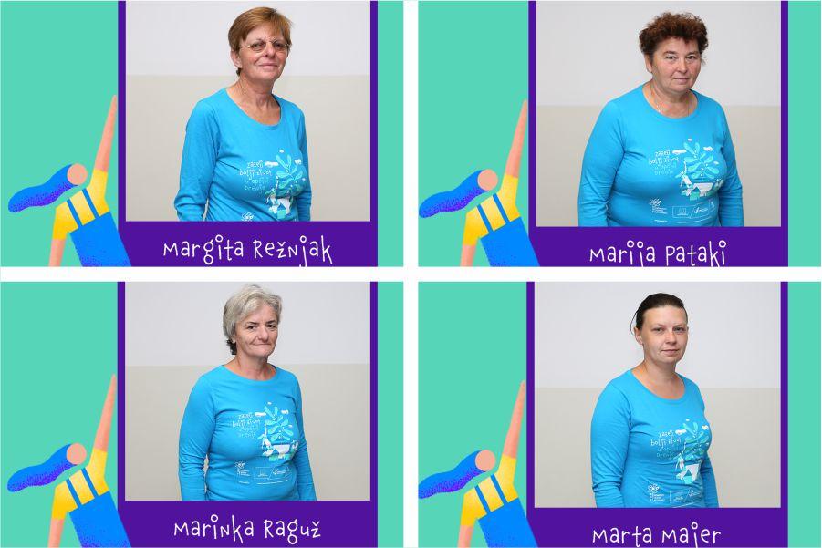 [Zaželi portreti] Marta Majer, Marija Pataki, Marinka Raguž i Margita Režnjak