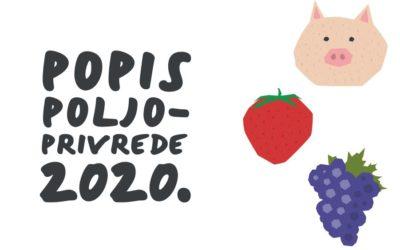 Popisu poljoprivrede 2020. godine