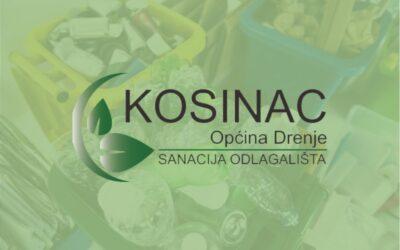 """Sanacija odlagališta otpada """"Kosinac"""", Općina Drenje"""