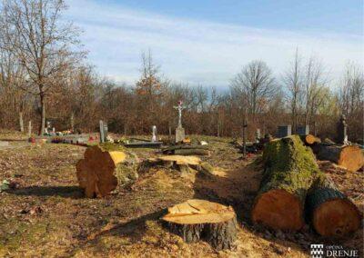 Općina Drenje groblja