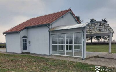 Općina ustaklila sjevernu stranu kuće oproštaja u Drenju