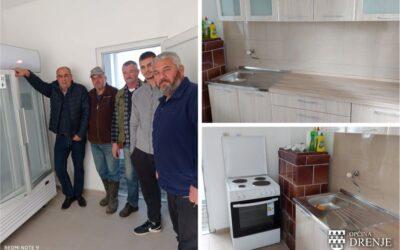 Općina opremila društveni dom u Podgorju Bračevačkom